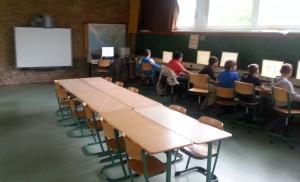 PC-Raum mit Smartboard
